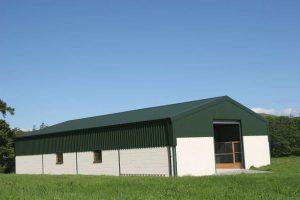 Gable Steel Commercial Warehouse