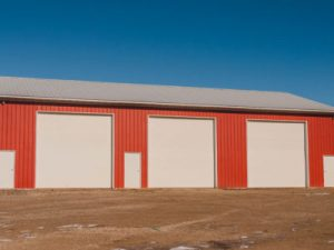 Barn Style: Red Building with White Trim