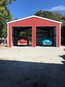 Classic Cars Steel Building