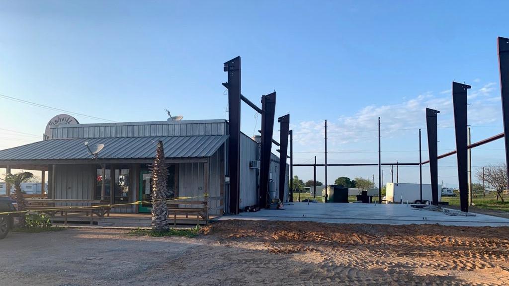 texas building parapet wall